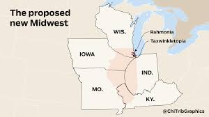 Map Of Wisconsin And Illinois by What To Do With A Broken Illinois Dissolve The Land Of Lincoln