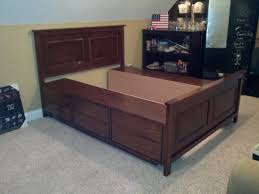 Make A Platform Bed With Storage by Queen Storage Platform Bed Abilene Storage Platform Bedroom