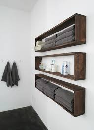 Floating Box Shelves by Diy Wall Shelves In The Bathroom Tutorial Diy Wall Shelves
