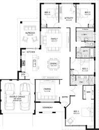 extraordinary design 11 4 bedroom house plans and cost built smart