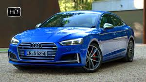 2017 audi s5 sportback blue exterior u0026 interior design overview hd
