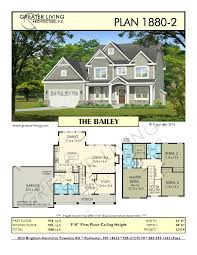 Two Story House Floor Plans Plan 1880 2 The Bailey House Plans 2 Story House Plan