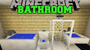 minecraft bathroom toilet shower bathtub sink u0026 more mod