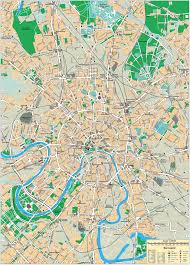 Map Of Russia And Europe by Maps Of Moscow Detailed Map Of Moscow In English Maps Of