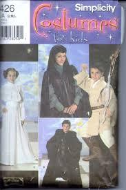 pattern witch costume simplicity 4426 star wars halloween costume pattern children