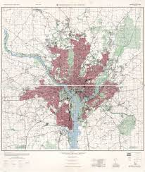 Map Of Washington Cities by Large Scale Detailed Topographical Map Of Washington And Vicinity