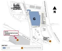 Unm Map General Info For Parking On Campus Parking U0026 Transportation