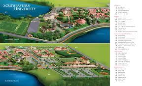 Map Of Lakeland Florida by Seu Campus Maps Southeastern University