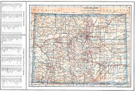 Map Of Colorado And Surrounding States by Map Of Colorado With Cities And Towns You Can See A Map Of Many