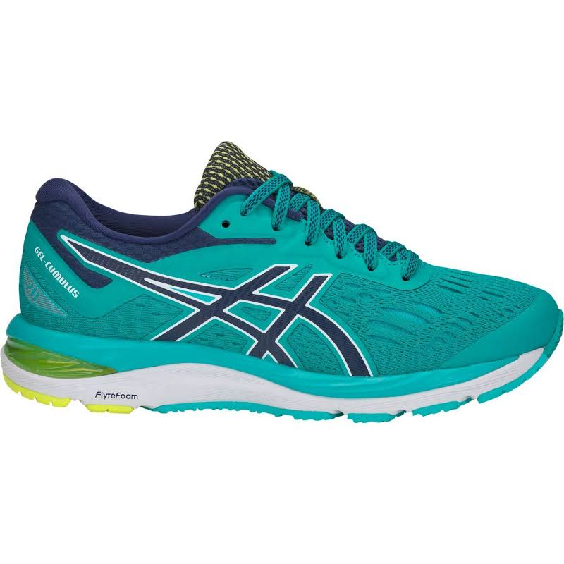 ASICS Gel-Cumulus 20 Running Shoes Green- Womens