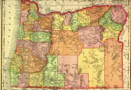 Oregon Map by Fw Hsts 470 Osu Extended Campus Oregon State University