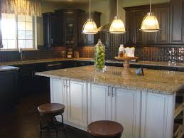 Kitchen Island Lamps Curved Glass Kitchen Island Chandeliers Combined Round Bar Stools