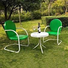 Lowes Patio Furniture Sets by Shop Crosley Furniture Griffith 3 Piece Steel Patio Conversation