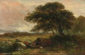 David Cox by Cox Landscape With A Gypsy Ten Landscape Sotheby U0027s