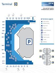 Map Of Dallas Fort Worth Airport by Dallas Terminal Map Images Reverse Search