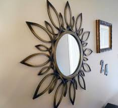 Home Decor Walls Home Decoration Vintage Wall Decor Mirrors With Decorative Wooden