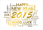 Happy New Year 2015 Handmade Greeting Cards | Happy New Year 2015