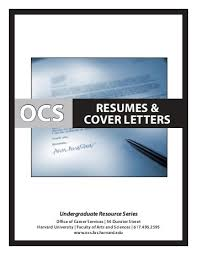 resumes  amp  cover letters   Office of Career Services   Harvard University Yumpu