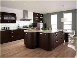 cheaper dark cabinet kitchen ideas shining home design