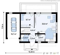 Simple 4 Bedroom House Plans by Scandinavian House Plan Home