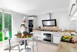 modern white kitchen interior design ideas