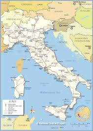 Western Europe Political Map by Political Map Of Italy Nations Online Project
