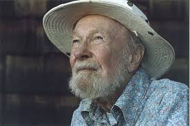 Pete Seeger, who helped create