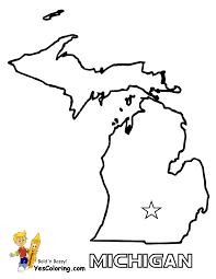 Us Map Michigan by Free State Maps Massachusetts South Dakota Map Outline Map