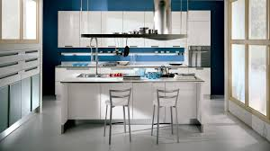 captivating kitchen interior design with white gloss cabinet