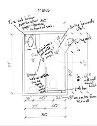 Handicap Bathroom Designs Ada Redesigning A Public Men U0027s Bathroom Based On Ada Regulations