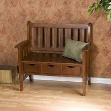 Rustic Wooden Bench With Storage Furniture White Storage Bench Entryway Bench With Storage