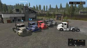 new kenworth semi kenworth t600 semi truck v1 1 0 0 mod farming simulator 2017
