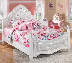 Full Size Bed In A Bag For Girls by Signature Design By Ashley Lil U0027 Darling Full Ornate Poster Bed