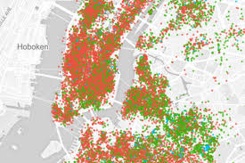 Map New York City by Use This Map To Explore Airbnb U0027s Takeover Of New York City The Verge