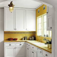 kitchen interior kitchen design feature yellow ceramic l shape