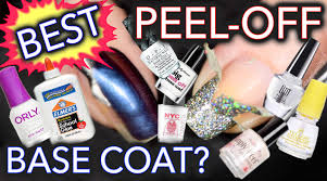 best peel off base coat 32 tests done youtube