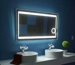backlit bathroom mirror demister pano fluorescent illuminated