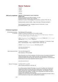 Best Software Developer Resume by Software Developer Resume Sample Resume For Your Job Application