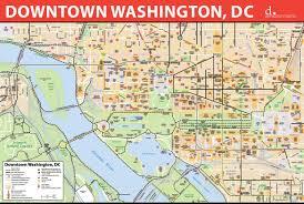 Downtown Dallas Map by Washington D C Downtown Bike Map