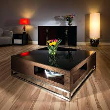modern wood and glass coffee table coffee table bijan square cocktail tablemodern coffee table uk