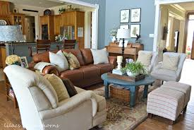 Farm Style Living Room by Traditional Cottage Farmhouse Style Home Tour Debbiedoos