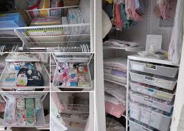 Closet Organizer For Nursery Organizing A Tiny Odd Shaped Closet For A Baby Nursery Or Room