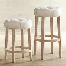furniture lawson java backless counter stools in natural finish