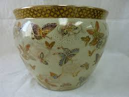 buy porcelain fish bowl planter 14