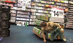 gamestop ps4 black friday nathan drake taking cover in gamestop geek com