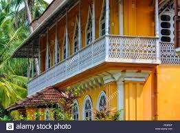 india goa colonial homes stock photo royalty free image 94735047