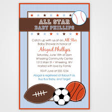 printable baby shower invitations for boys baby shower invitations boy sports