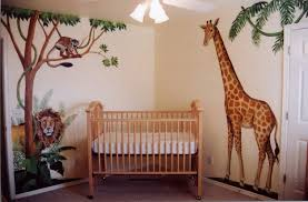 Baby Room Wall Murals by Baby Nursery Cool Jungle Baby Nursery Room Decoration Using Palm