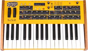 Dave Smith Mopho Keyboard: Monophoner Analog- - Dave-Smith-Instruments-Mopho-Keyboard