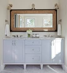 Bathroom Vanity San Francisco by San Francisco Double Vanity Mirror Bathroom Transitional With